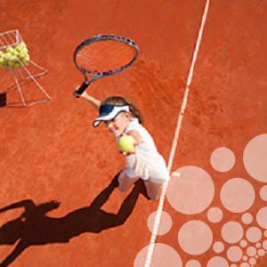 Tennis wedstrijdspanning