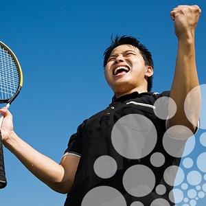 Tennis zelfvertrouwen
